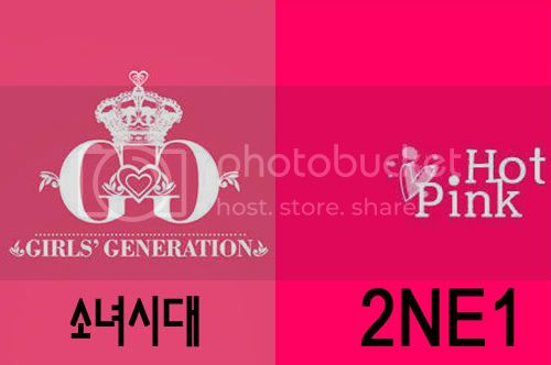 SNSD,2NE1